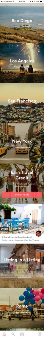 Airbnb - Categories