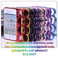#iPhone #knucklecase #onethirteen