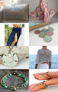 summer must haves  by Jennifer Bosshart Thomas on Etsy
