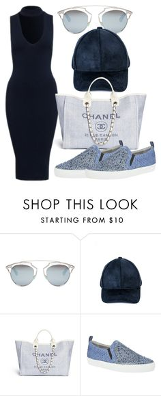 """Untitled #319"" by samstyles001 on Polyvore featuring Christian Dior and Gina"