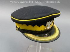 Royal Scots Dragoon Guards Officer's Peaked Cap