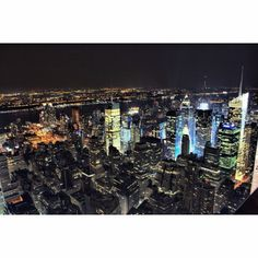 New York Skyline from Empire State Building