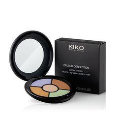 KIKO MAKE UP MILANO: Colour Correction Concealer Wheel - paleta com 5 tonalidades de corretor