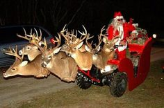 John (Rein)Deere's – Tractor Sleigh 8000 (I need to start a redneck board. Funny Christmas Decorations, Christmas Card Sayings, Funny Christmas Pictures, Funny Pictures, Funny Pics, Funny Quotes, Yard Decorations, Pictures Images, Videos Funny