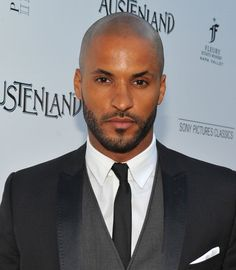 Ricky Whittle plays Shadow Moon in the new American Gods series.