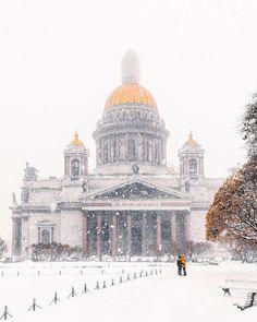 ***A snowy day (St Petersburg, Russia) Автор фото: Андрей Михайлов (Andrei_mikhailov)