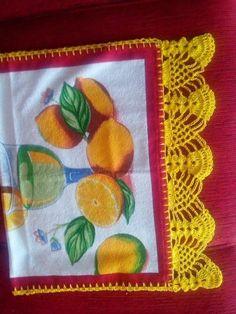 Lindos e criativos Barrados em crochê Thread Crochet, Crochet Trim, Knit Or Crochet, Filet Crochet, Crochet Boarders, Crochet Bikini Pattern, Irish Lace, Drops Design, Crochet Projects