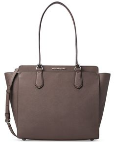 bfeadc0ca0b8 Michael Kors Dee Dee Large Tote in Cinder -- Check out the image by visiting