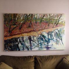 120x200cm , oil painting , 2014.  Bülent Gürcihan