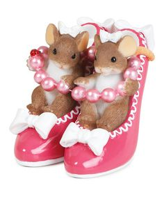 Take a look at this Sole Sisters Figurine by Charming Tails on #zulily today!