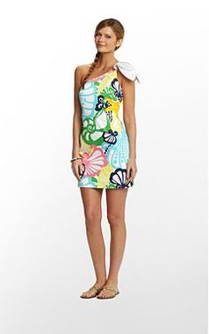 Lilly Pulitzer - Dresses...I may be too old for this one, but it is really cute.