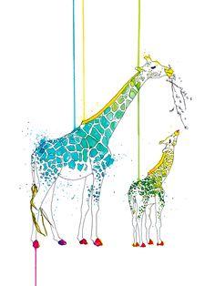 Giraffes by Steven Vigil