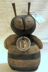 bee bust doll