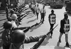 Memphis Sanitation Strike, 1968.