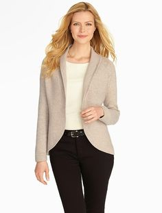 Talbots - Jersey Stitched Charming Cardigan | Charming Collection ...