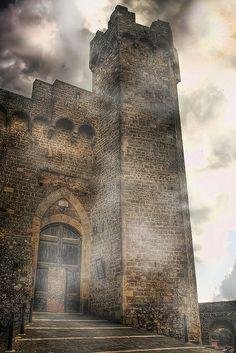 Medieval Castle, Montalcino, Italy