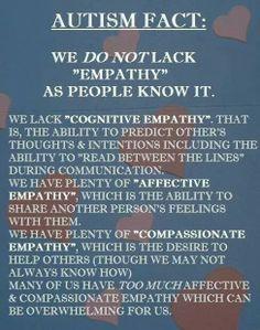 Autism and empathy