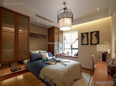 Effect picture of Southeast Asian style design Interior bedroom decoration 2015