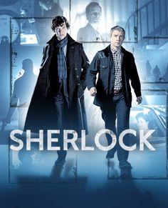Sherlock Created by Mark Gatiss, Steven Moffat. With Benedict Cumberbatch, Martin Freeman, Una Stubbs, Rupert Graves. A modern update finds the famous sleuth and his doctor partner solving crime in century London. Sherlock Bbc, Sherlock Poster, Sherlock Tv Series, Sherlock Season 4, Watch Sherlock, Sherlock Online, Sherlock Holmes Tv Show, Benedict Sherlock, Sherlock Fandom