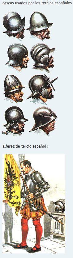 """Spanish Tercios Head Protective Gear """"Cascos"""""""