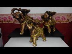 Elefantes en Yeso (Paso a Paso) - YouTube