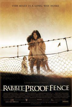 """C'est par un article de journal que Christine Olsen, la future scénariste du film, découvre le sujet. On y parlait d'un livre intitulé """"Follow The Rabbit-Proof Fence"""", l'histoire vraie de trois petites filles aborigènes qui s'étaient enfuies d'une mission pour retourner chez elles à pied."""
