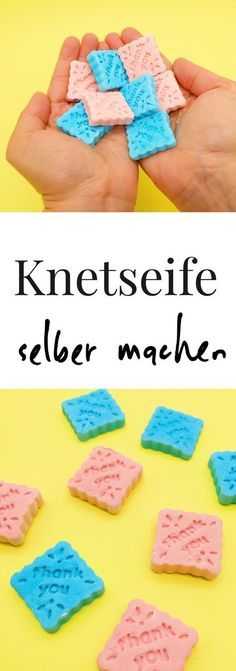 Make kneading soap yourself - beautiful craft ideas for children and adults - Basteln - Make DIY kneading soap yourself: beautiful DIY gifts for children and adults. Craft ideas for child - Crafts For Teens To Make, Diy Gifts For Kids, Easy Diy Gifts, Gifts For Teens, Diy For Teens, Diy For Kids, Easy Crafts, Diy And Crafts, Craft Gifts