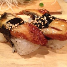 Unagi...FAVORITE!! How can something that gross taste so good?!!