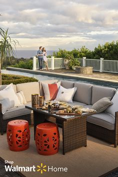 Exterior Design Backyard Small Spaces Fit New Ideas Deck Furniture, Outdoor Furniture Sets, Outdoor Decor, Outside Living, Outdoor Living, Outdoor Heaters, Deck Decorating, Outdoor Areas, Backyard Patio