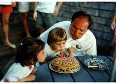 Making birthday wishes with Dad! #PinitforPapa