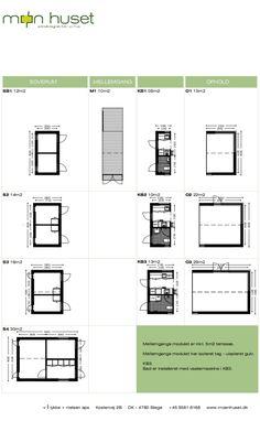 Møn Huset Længehuset 55, available modules