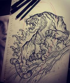 Tigerrrr for today! Going to be fun! ... for me at least. Thanks for looking