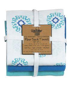 Look at this Marina Sun Dish Towel Set on #zulily today!