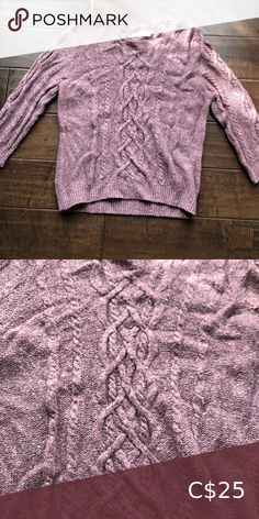 Cropped sleeve sweater The cropped sweater with length sleeves looks great over button down shirts or blouses. It is a PETITE size. Rose Sweater, Burgundy Sweater, Ribbed Sweater, Cotton Sweater, Cropped Sweater, Long Sleeve Sweater, Petite Size, Lace Sleeves, Sweaters For Women