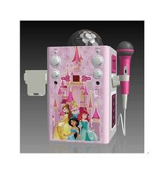 Kids' Karaoke Machines - Princess Flashing Disco Ball Karaoke * Read more reviews of the product by visiting the link on the image.