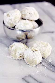"""""""cardamom and rose water tea cookies (also known as weddin' cookies at my house)insockmonkeyslippers.com"""""""