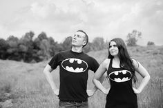 Engagement Fun | Flickr - Photo Sharing! corey wear his batma and i can wear my robin