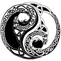 stormlight archive symbols | Tatuaggio tribale cucciolo di drago yin yang