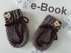Häkelanleitung Babyhandschuhe, handschuhe häkeln, häkeln fürs baby, Babysachen häkeln