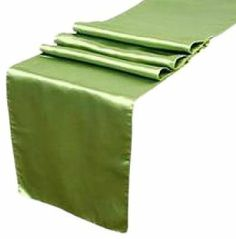 Koyal 12 by 108-Inch Satin Table Runner, Willow Green by Koyal. $5.70. Hand Wash and Hang Dry Only (Do Not Use Dryer). Perfect for catered presentations, weddings, bridal and baby showers, birthdays, classic candy buffets, dessert tables, and more. Satin. Edges are hemmed. These table runners are perfect for weddings, receptions, birthdays, anniversaries, and much more. Pair this with other Koyal Wholesale products, such as vases, event decorations, lighting, DIY cr...