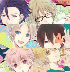 Tsukiuta The Animation, Anime People, My Precious, Prince, Mint, Journal, Journals, Peppermint