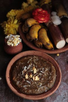 Sweet Pongal – Jaggery Sweetened Rice & Yellow Lentils (South Indian)  Recipe on www.lovefoodeat.com