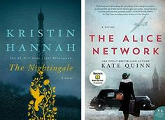 Is your book club looking for a historical fiction novel to read next? If you enjoyed The Nightingale by Kristin Hannah, try The Alice Network by Kate Quinn.