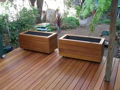 Wooden Planter Boxes Ideas to Give You Inspirations ...