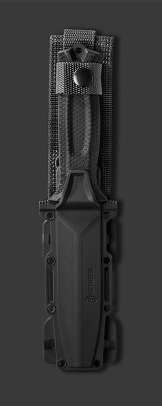Gerber StrongArm Fixed Blade Knife, Serrated Edge