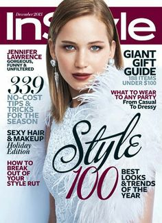 Jennifer Lawrence and Jessica Chastain both look wonderful on the covers of In Style and Vogue, respectively.