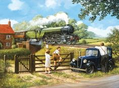Passing By - 1000pc Jigsaw Puzzle by SunsOut