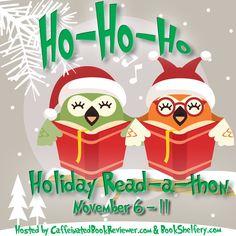 A Novel Challenge: Ho-Ho-Ho Holiday Read-a-thon via @Novel_Challenge