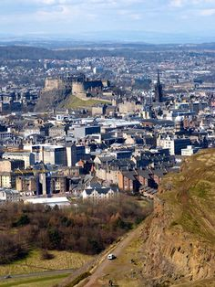 Fabulous views from the top of Arthur's Seat