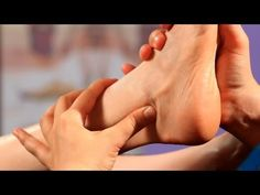 Working the Ankles - Foot Reflexology Techniques